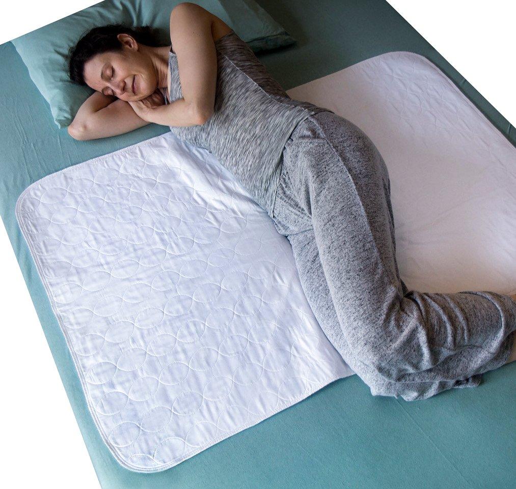 Amazon.com: SOMATA - Juego de 2 colchones de cama lavables ...