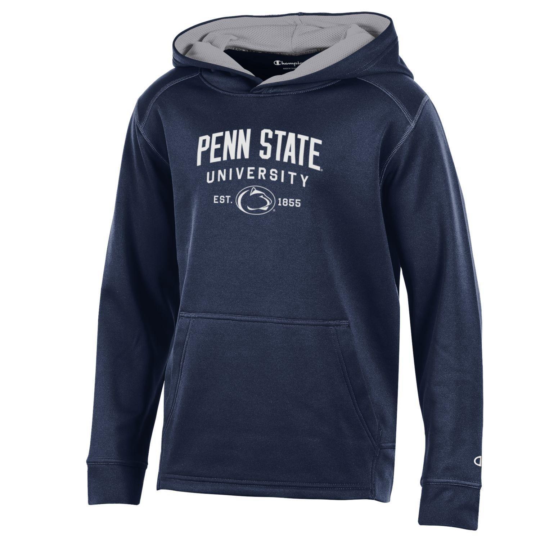 Bag2School Penn State University PSU Champion Nittany Lions Kids Boys Youth Athletic Fleece Hood