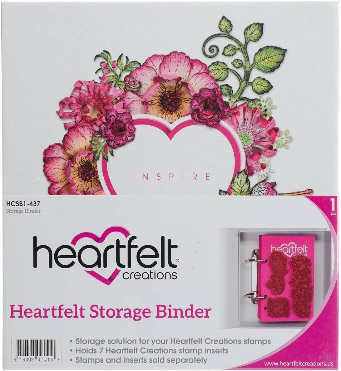 Mehrfarbig Heartfelt Creations Aufbewahrung Binder 21.33/X 22.86/x 20,6/cm