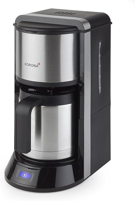 Korona 10291 - Cafetera eléctrica con jarra tipo termo (acero fino): Amazon.es: Hogar