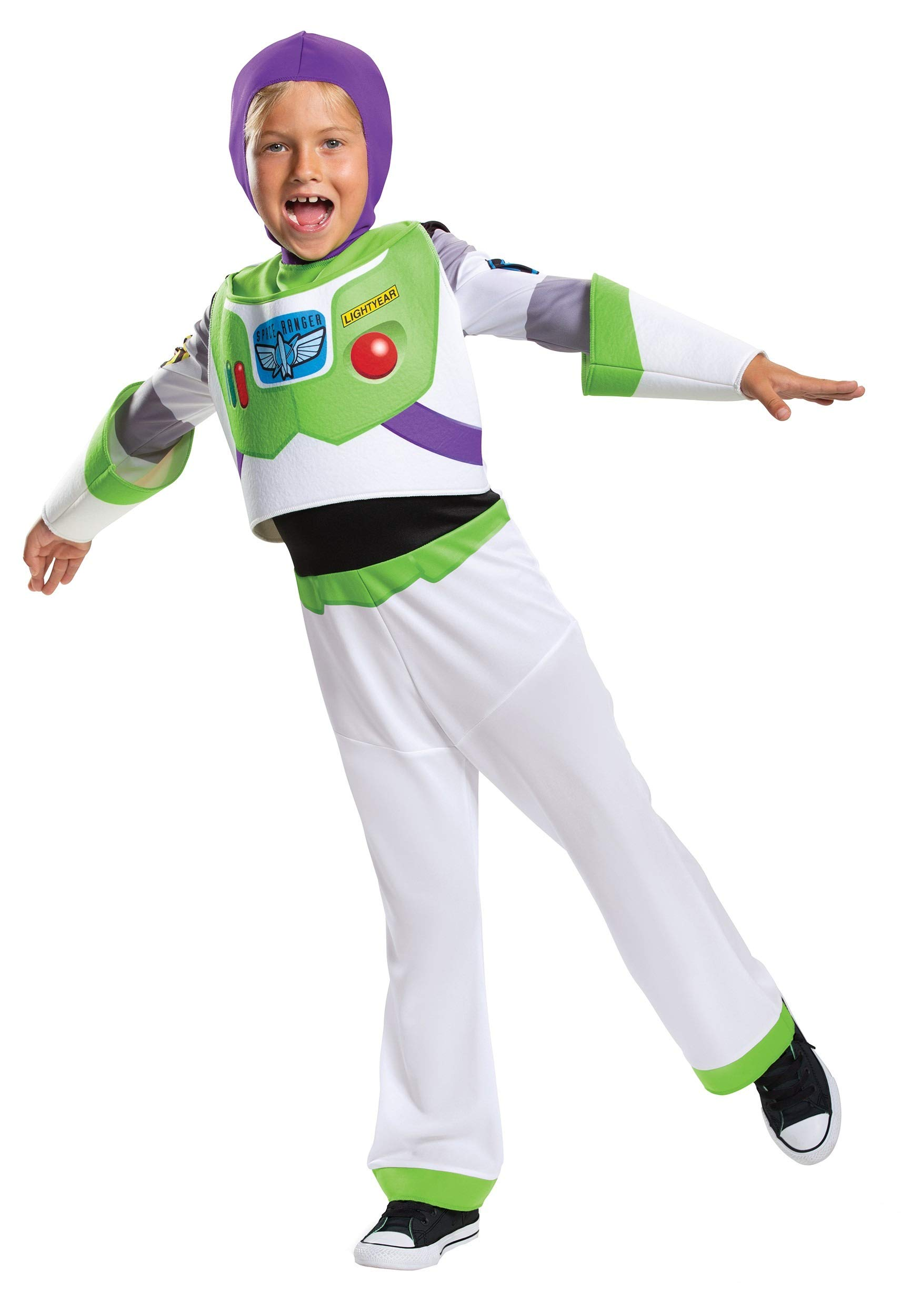 Disney Toy Story Toddler Buzz Lightyear Classic Costume 3T/4T