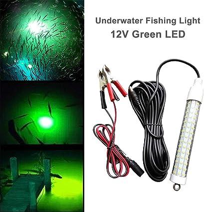 Enjoyable Amazon Com 12V 120 Led 1000 Lumens Lure Bait Finder 10 5W Night Wiring 101 Breceaxxcnl