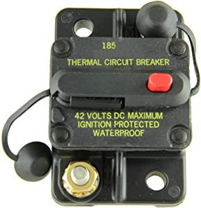 Bussmann CB185-40 Surface-Mount Circuit Breakers, 40 Amps (1 per pack)