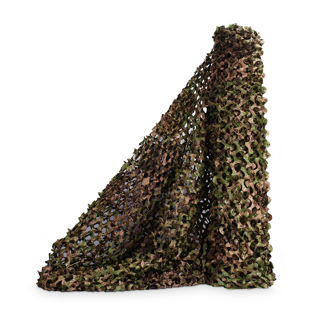 Green Zone 1.5Mx2M(4.9ftx6.6ft) Sitong Bulk Roll Camo Netting Hunting Military Decoration Sunshade