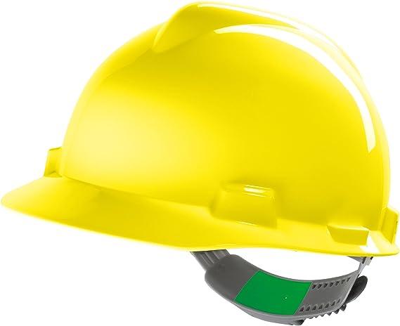 Casco de Protección MSA V-Gard (V-Gard, Amarillo): Amazon.es: Bricolaje y herramientas
