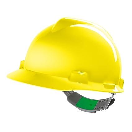 Casco de Protección MSA V-Gard (V-Gard, Amarillo)