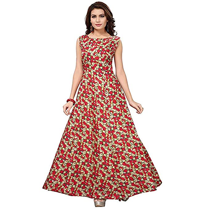 ea2c19c514 Gown For Women Party Wear Gowns Offer Designer Below 500 Rupees Latest  Design Under 300 Combo cotton New ...