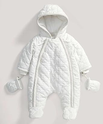 2dabbae7e Mamas & Papas - Unisex Welcome to the World White Quilted Pramsuit: Mamas &  Papas: Amazon.co.uk: Clothing