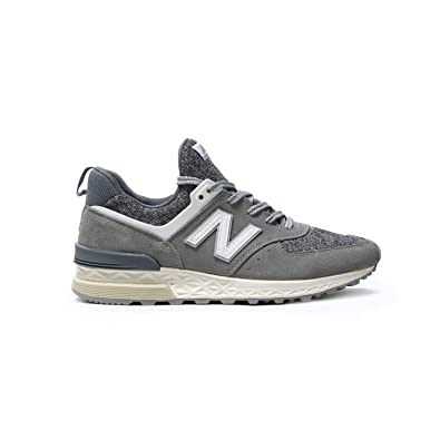 brand new 43c70 1cd44 New Balance New Men's Balance 574 Sport Grey/White Ms574bg