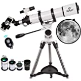 Gskyer 90600 天体望遠鏡セット 経緯台式 口径:90mm 焦点距離:600mm