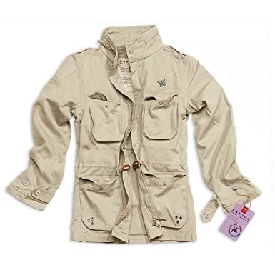 cef35058e137 Surplus Women s Jacket - Beige - L  Amazon.co.uk  Clothing