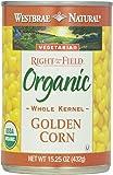Westbrae Natural, Vegetarian Organic Golden Corn, Whole Kernel, 15.25 oz