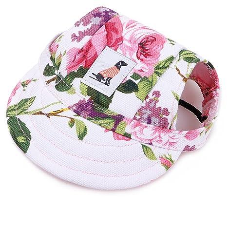 Zero Gorra de Béisbol para Perros Pequeños, Sombrero de Protección ...