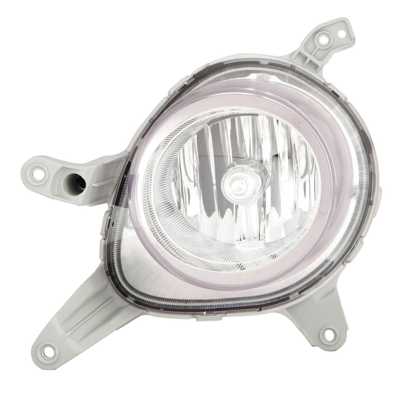 CPP NSF lado del conductor niebla luz hy2592153 para 13 - 16 Hyundai Veloster: Amazon.es: Coche y moto