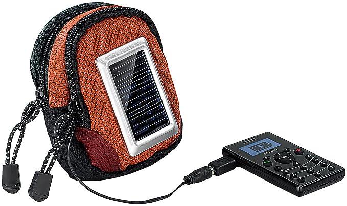 Revolt - Cargador solar Teléfono Móvil: 2 in1 Funda & USB ...