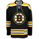 Boston Bruins Reebok Premier Replica Home NHL Hockey Jersey