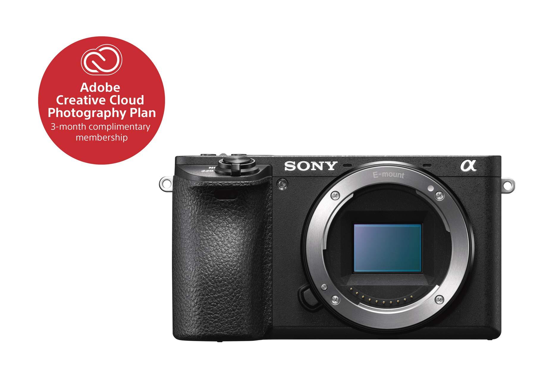 Sony Alpha a6500 Mirrorless Digital Camera w/ 2.95