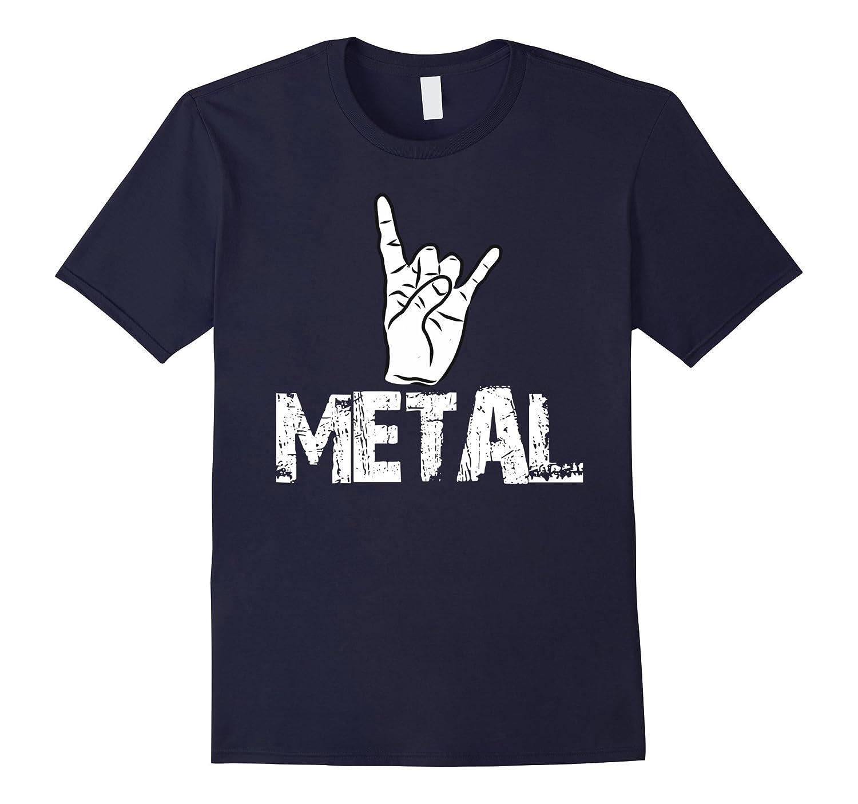 Metal Rock Music Hand Horn Symbol Rock On Metal Head Concert Anz