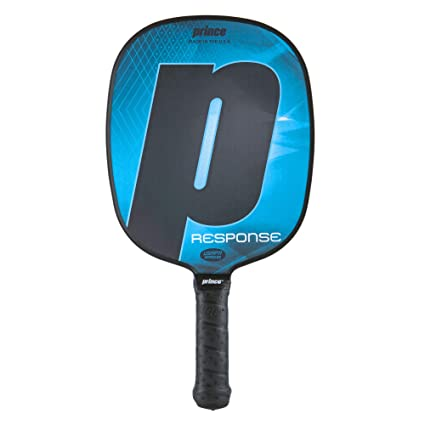 Prince Pickleball | Response Pickleball Paddle | Polymer Honeycomb Core | Textured Fiberglass Composite Face |