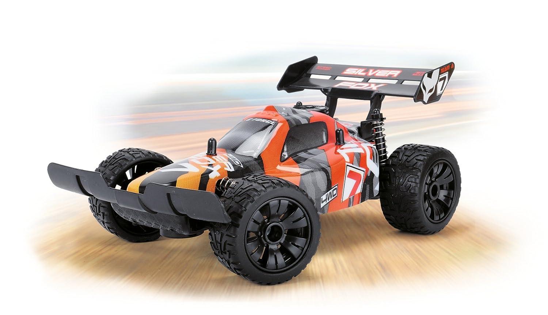 Dickie Toys Elektrisches Spielzeug RC Silver Fox Funkferngesteuerter Buggy Elektrisches Spielzeugauto