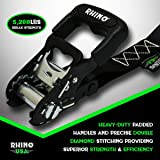 RHINO USA Ratchet Straps Heavy Duty Tie Down