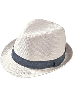 Mackur Enfants Bébé Panama Chapeau de paille Chapeau de soleil été ... 8dee2549321