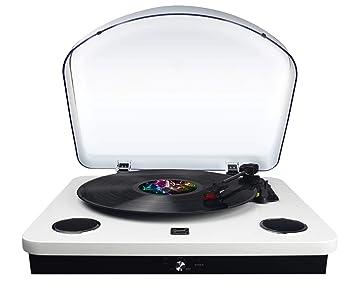 Dual Tocadiscos USB dl-p09 color blanco lacado: Amazon.es ...