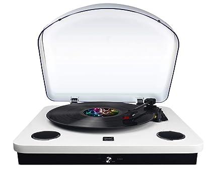Dual Tocadiscos USB dl-p09 color blanco lacado: Amazon.es: Electrónica