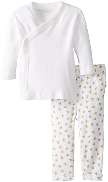 Burts Bees Baby Clothes Unique Amazon Burt's Bees Baby Baby Bee Essentials Solid Kimono Top