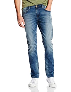 TOM TAILOR Denim Herren Skinny Jeanshose PIERS super slim denim 501 ... 9aa67f20ea