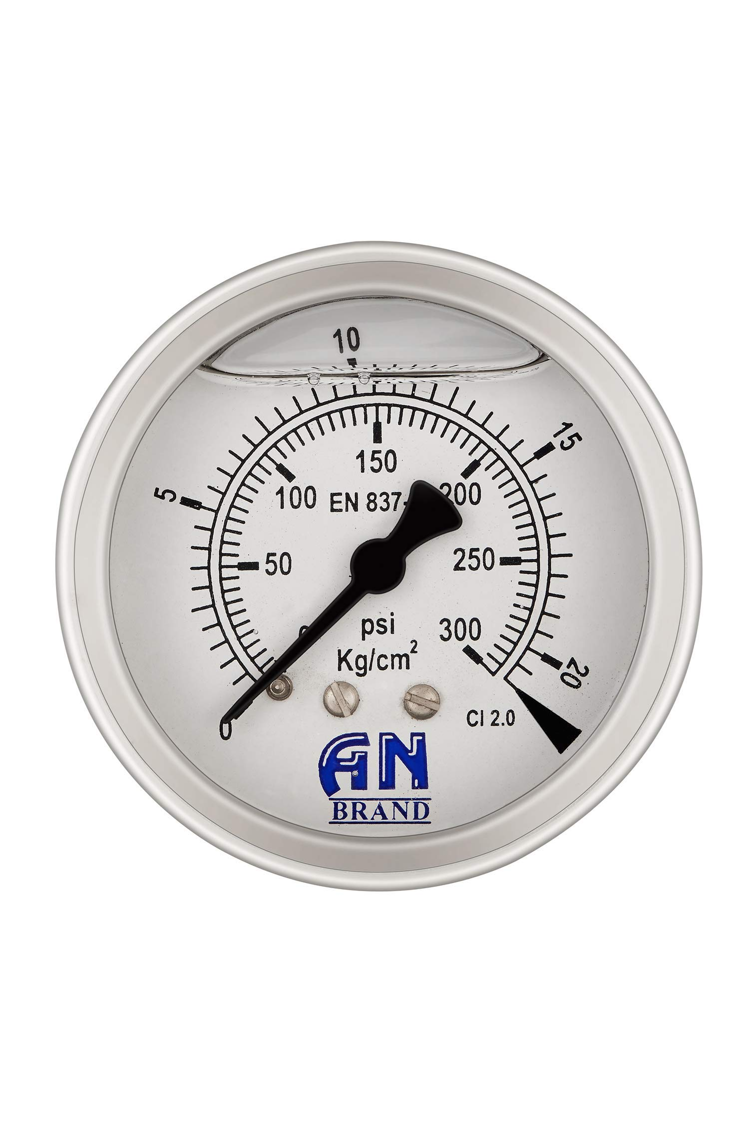 Amazon price history for AN Brand Back Mounted RO 63 mm Pressure Gauge