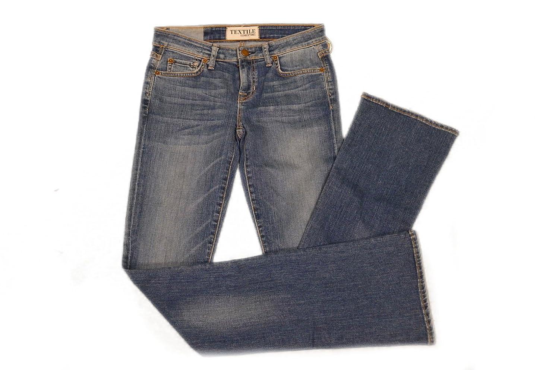 TEXTILE ELIZABETH & JAMES Tyler Womens Boot cut Jeans Sz 26 Storm Wash 180434DH