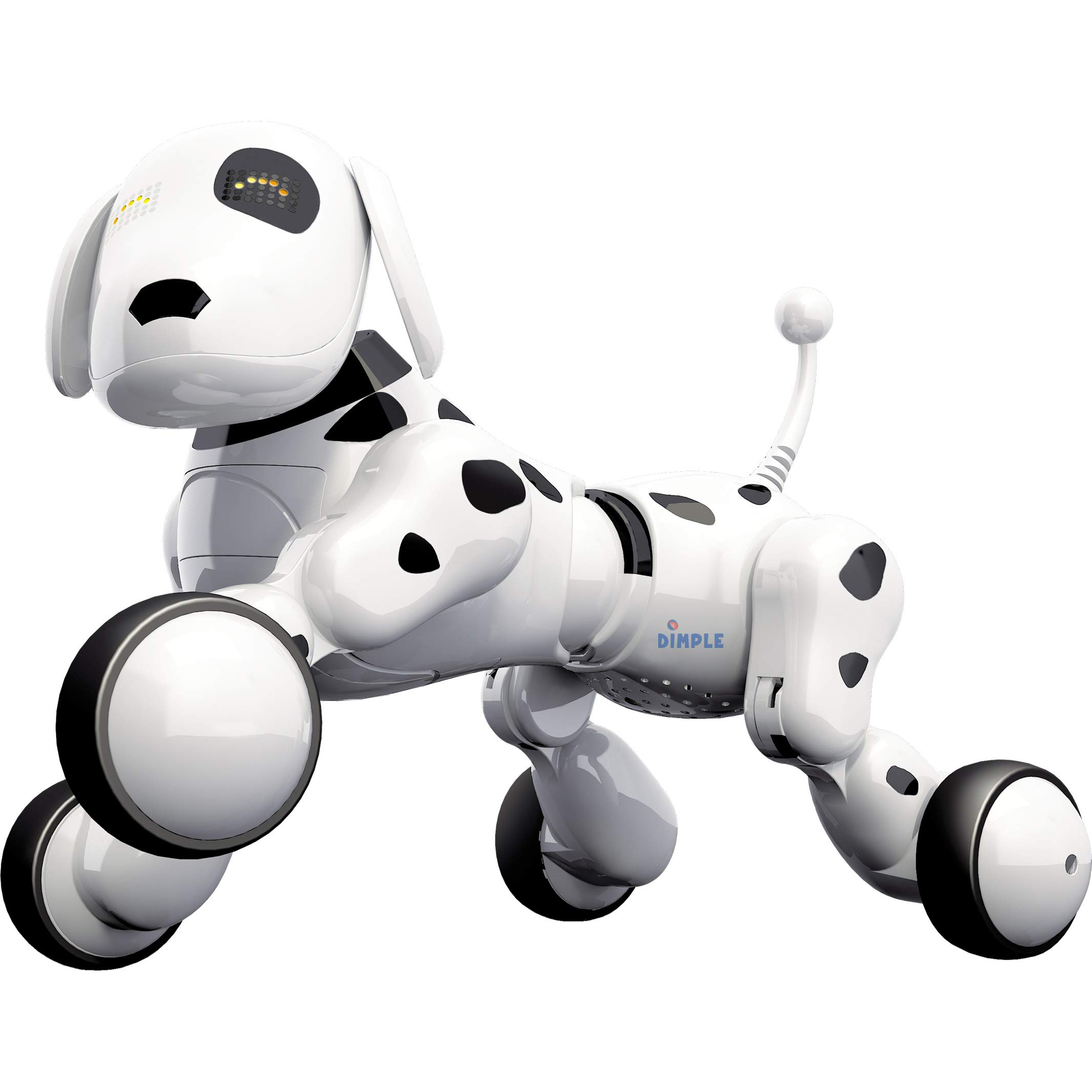 Dimple Interactive Robot Puppy With Wireless Remote Control RC Animal Dog Toy That Sings, Dances, Eye Mode, Speaks for Boys/Girls, Perfect Gift for Kids. by Dimple (Image #3)