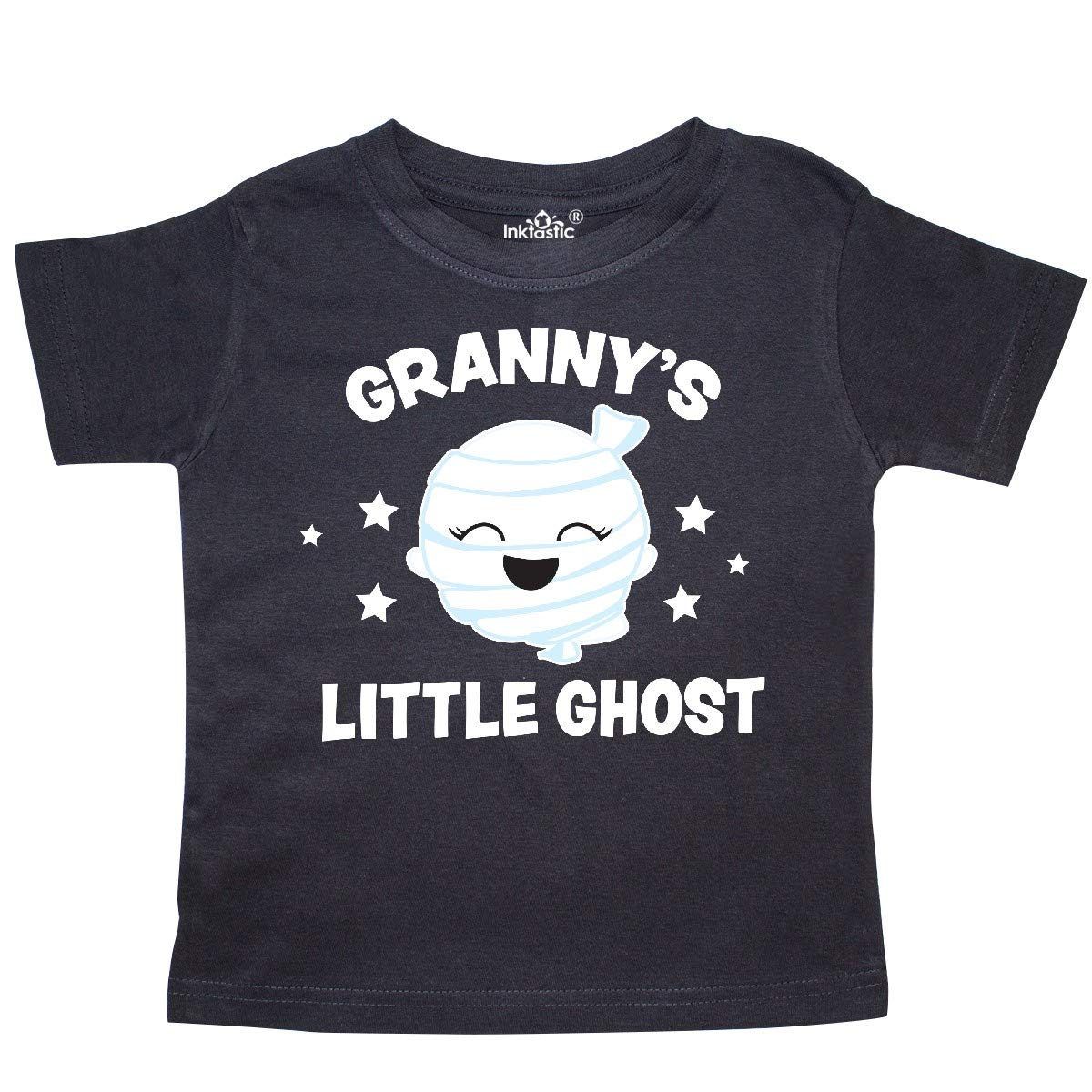 inktastic Cute Grannys Little Ghost with Stars Toddler T-Shirt