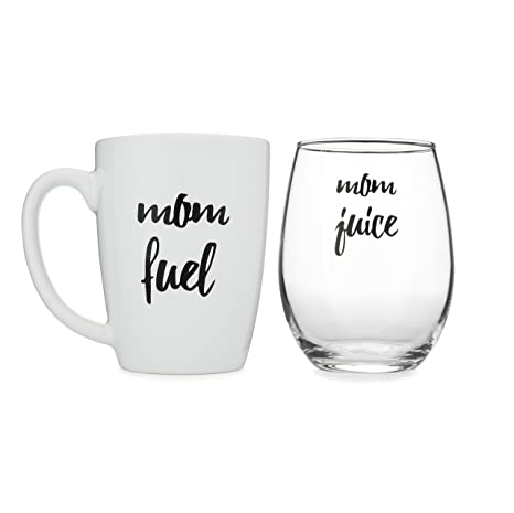 funny mom gift stemless wine and coffee mug set by wear tough - 30 Limerick Examples Funny Cooperative
