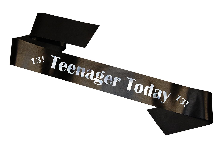Simply Sashes Teenager Today Sash - Black