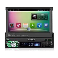 Pumpkin Autoradio android 1din universale con navigatore 7 pollici,supporta GPS Bluetooth, USB,SD, WiFi, 3G