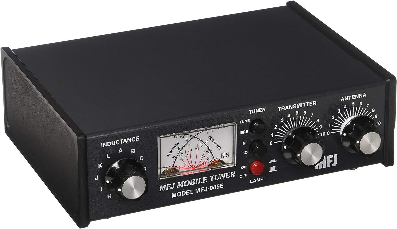 MFJ-945E Afinador para antenas portátiles y móviles 1.8 60 MHz 300 W