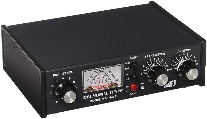 MFJ Enterprises Original MFJ-945E 1 6 ~ 60 MHz Mobile Antenna Tuner w/ Watt  Meter & Antenna Bypass Switch  300 Watts