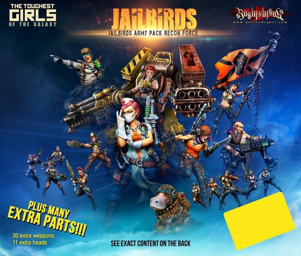 Jailbirds Army Pack - Recon Force