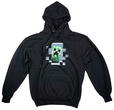 Jinx hombre oficial Mojang Minecraft Creeper & Moon Sudadera Con Capucha Sudadera Tallas M L XL -