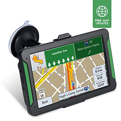 GPS Navigation for Car,Voice Turn, Driving Alarm,7-inch 8GB HD GPS Navigator, with Sunshade& Lifetime Free Update Map