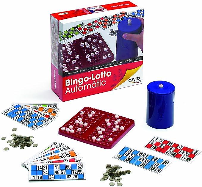 Cayro Juguetes Sl 701 - Bingo automático (Instrucciones en francés): Amazon.es: Juguetes y juegos