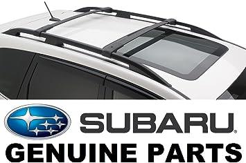 2019 Subaru Forester Aero Crossbar Roof Rack Set NEW SOA367010 Genuine Factory