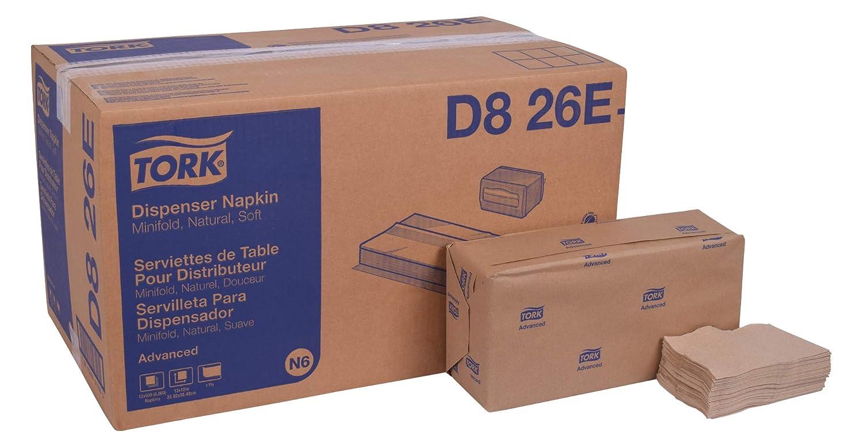 Tork Advanced Luxri 13ナプキンin Natural B00M6XT3JI ナチュラル