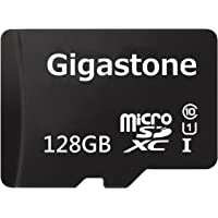 Gigastone 128GB microSDXC Card with Adapter