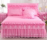 Lotus Karen Rose Princess Bed Sets Multi Layers