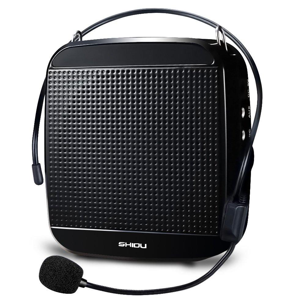 Zoweetek® voz amplificador W alta potencia salida megafonía con micrófonos para profesores