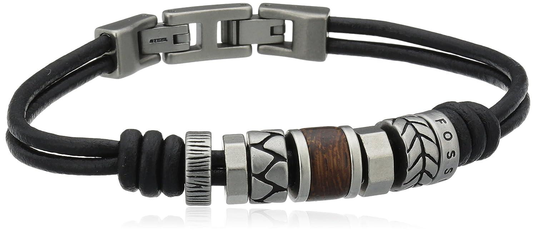 bracelet fossil homme noir. Black Bedroom Furniture Sets. Home Design Ideas