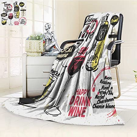 Nalahome Manta de Forro Polar (300 g/m²), Diseño de Dibujo de ...